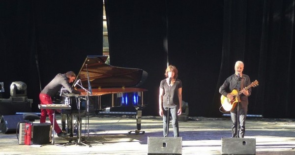 Etienne Champolion, Céline Caussimon et Arbon (photo)