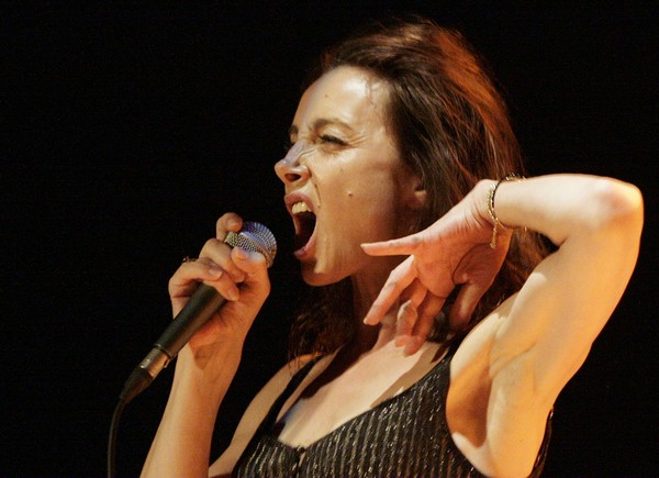 Valérie Mischler : un grand fauve ou une Amazone ? (photo Catherine Cour)