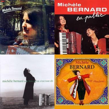 Les quatre Grands prix du disque de l'Académie Charles-Cros de Michèle Bernard