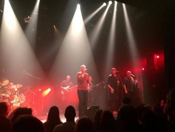 Sur la scène nantaise (photo Anne-Laure)