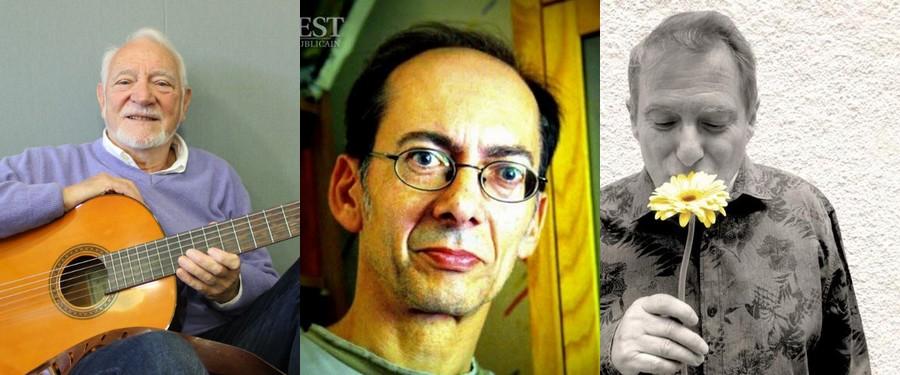 Jacques Lebouteiller, Michel Buzon et Rémy Tarrier (photo DR, )