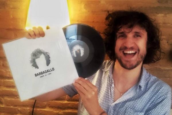 Barbagallo à la sortie de son précédent album (photo d'archives  page facebook)