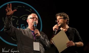 Michel Kemper (NosEnchanteurs) et Yvan Cujious (Sud-Radio)