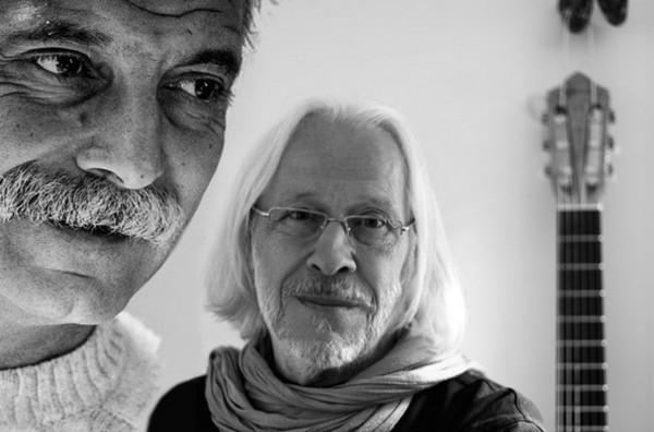Georges Brassens et Joël Favreau (montage photos DR)