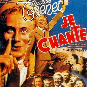 TRENET Charles Film je chante 1938 carrée