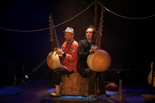 Hervé Lapalud et Jonathan Mathis (photo Nicolas Blanchard)