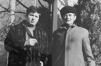 Jean Dufour et Félix Leclerc (photo DR)