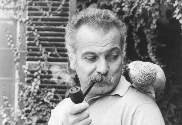 Georges Brassens (photo DR)