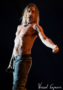 Iggy Pop (photo Vincent Capraro)
