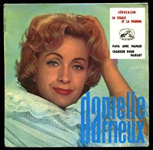 DARRIEUX Danielle 45t 1960 original Chanson pour Margot