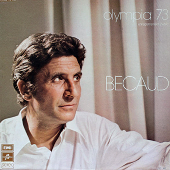 Bécaud Gilbert Olympia 1973