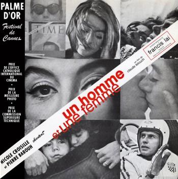 BAROUH CROISILLE BO Un homme et une femme 1966