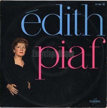 PIAF Edith C'est l'amour 1959