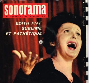 Au sommaire, un entretien avec madame Piaf à la veille de son Olympia en 1961