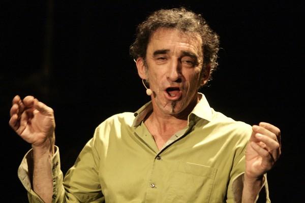 Alain Sourigues au Théâtre Clavel (photo Anne-Marie Panigada)
