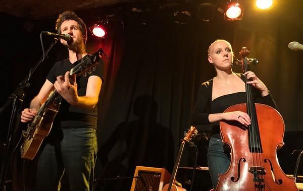 Frédéric Bobin et Hélène Piris à A Thou bout d'Chant (photos Anny-Claude Durbet)