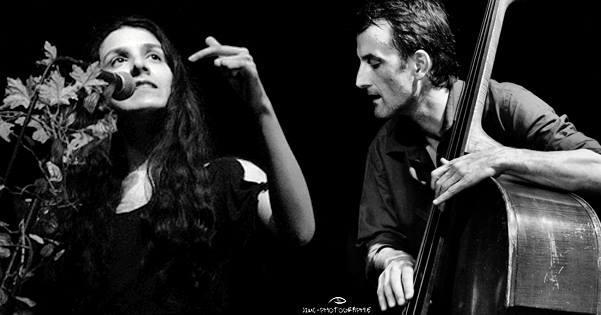 Dyne et Romain Duret en concert en 2017. Photo JM Melat-Couhet