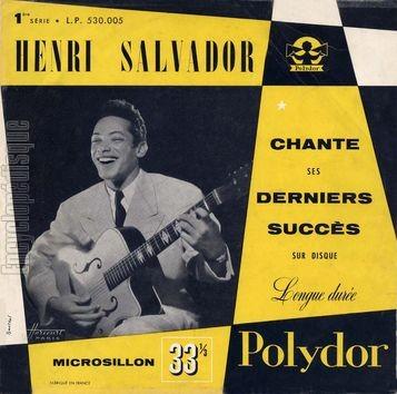 SALVADOR chante ses derniers succès 1954