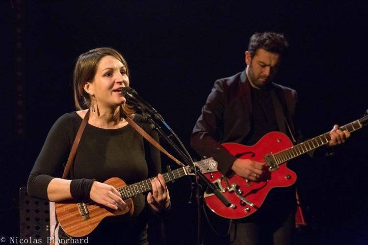 Lise Martin et Chouf à la MJC de Venelles. Photos Nicolas Blanchard