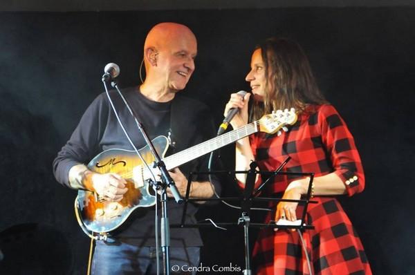 Dan Ar Braz et Clarisse Lavanant (photo Cendra Combis)