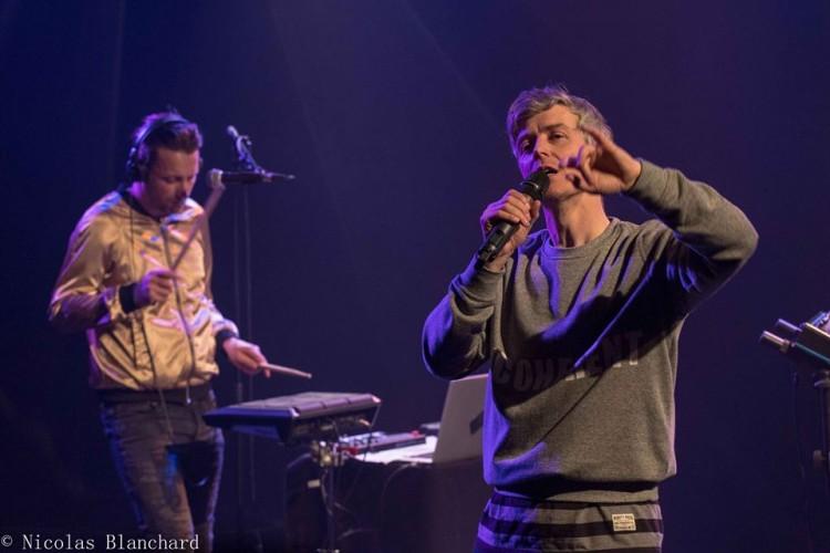 Fabian Tharin et Patrick Dufresne à la MJC de Venelles Photo ©NicolasBlanchard