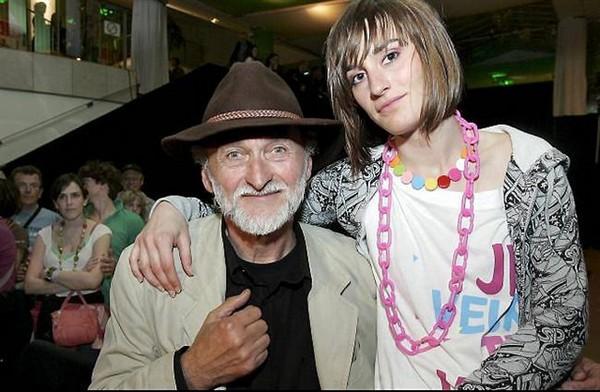 François Budet et sa fille Yelle (photo DR publiée sur Ouest-France)