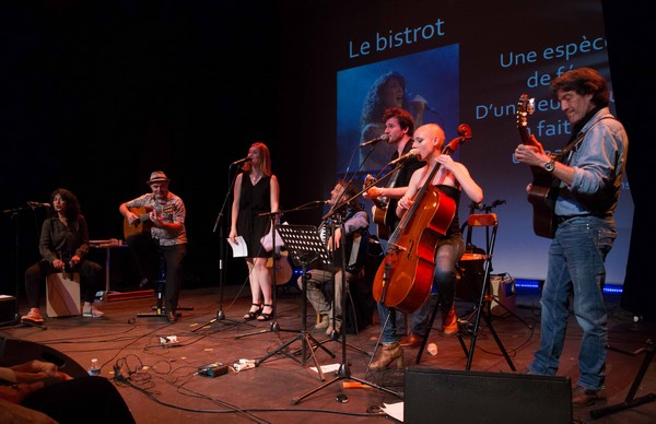 Sur scène : Augustine Hoffmann, Frédéric Bobin et Hélène Piris (photos Nicolas Blanchard)