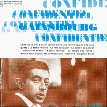 Gainsbourg confidentiel 1963