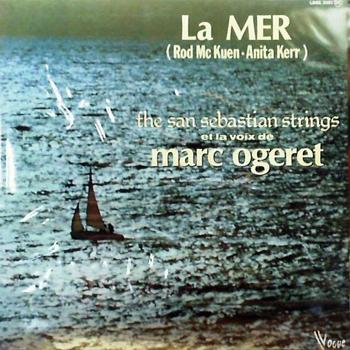 OGERET La mer Rod McKuen 1978