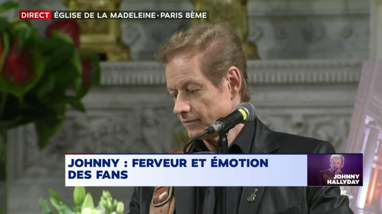 Johnny à l'église, pcc Chris Evans (copie d'écran)