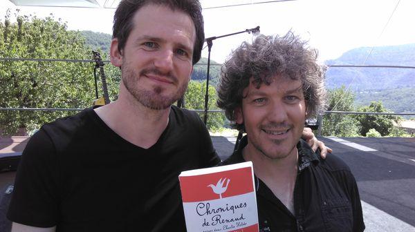Frédéric Bobin et François Gaillard (photo MK)