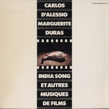 INDIA SONG et autres musiques de film 1975