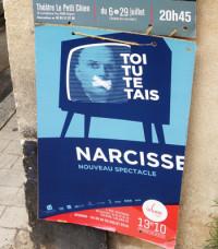 Affiche in situ, photo Bernadette thumerelle