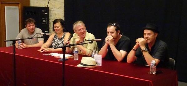 Loïc Lantoine, Dany Lapointe, Michel Kemper, Pascal Chauvet et Eric Frasiak (photo FB)