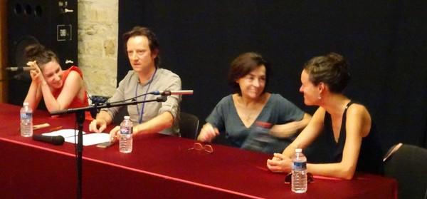 Garance, David Desreumaux, Bénédicte des Mazery et Pauline Dupuy (photo FB)