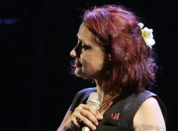 Géraldine Torres à Barjac (photo Anne-Marie Panigada)