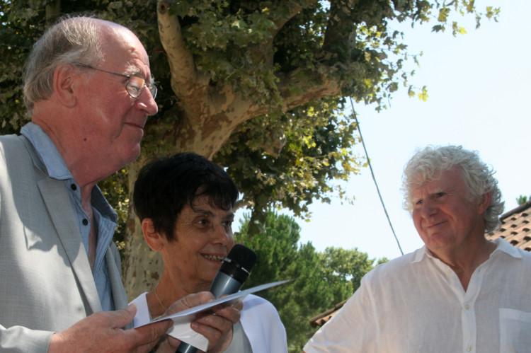 Jacques Bertin, Jacqueline Girodet et Bernard Joyet (photo Anne-Marie Panigada)