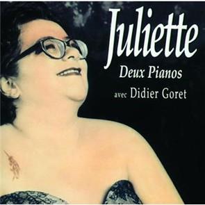 JULIETTE Deux pianos Sur scène 1998