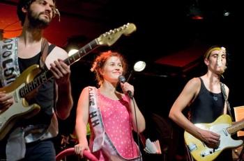 Maxime Kerzanet, Léopoldine et Charly Marty en concert en mai, photo DR