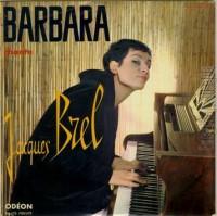 BARBARA chante Brel 25 cm 9 titres 1961 Odéon