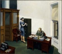 BERANGER Hopper Office_at_Night 1940