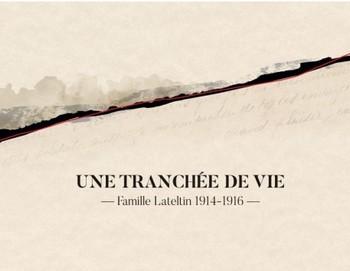 DE VICTOR LATELTIN À ROMAIN LATELTIN, UNE TRANCHÉE DE VIE C'est la Grande Histoire vue par la petite, la fenêtre familiale qui s'ouvre sur le monde, sur l'immonde. Par le sort d'un soldat parmi tant d'autres. Lui se nomme Victor Lateltin, immigré italien né en avril 1879 à Riva Valdobbia. Il a 35 ans en août 1914. Marié à Célestine Bacot, il a quatre garçons. Le plus jeune a seulement un mois quand Victor s'en va à la guerre. Victor mourra en avril 1916, des suites de graves blessures à la bataille de Verdun.  Romain est un des petits-fils de Victor. Il est chanteur, à la hauteur de quatre albums « chanson/pop » et d'un autre de piano. Il y a deux ans, il a créé, avec son copain et confrère Théophile Ardy, le groupe Fharo, groupe conceptuel autour du western. Là, c'est d'un tout autre far-west qu'il s'agit, la prétendue « der des ders » qui ne le fut pas, la « grande boucherie » de 14-18. En discutant avec son parrain lors d'un repas de famille, Romain apprend que celui-ci a reconstitué le périple militaire de l'ancêtre combattant, par la correspondance de ce dernier avec sa femme, ses enfants et son oncle. Nait alors l'idée chez Roman de rendre un singulier, étonnant et émouvant hommage à son grand-père. Ce qui n'aurait pu être qu'un projet familial prend la juste proportion d'un témoignage universel. Par cet aïeul tombé au front, un hommage à tous les poilus, tous ceux qui se sont battus ; ceux, nombreux, à y avoir perdu la vie. Le projet fut d'abord ce présent livre-disque, le regard sur une époque, sur une famille. Et le bourbier des tranchées : la boue, le sang, la merde. Les mots d'émotion, calligraphiés sur les lettres et les cartes postales, ceux qui rassurent. Et ces autres qui, malgré la censure militaire qui relit toute correspondance, contiennent en eux l'inquiétude, la peur de ne pas revoir son aimée, ses enfants. A travers les lettres de Victor, tout est palpable, concret, prégnant. Bouleversant. A travers le travail de Romain, tout est restitué, quasi