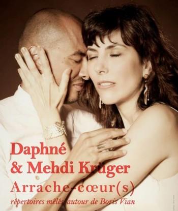 Boris Via, un tout autre spectacle, partagé entre Daphné et Mehdi Krüger, ce samedi 26 janvier au Théâtre Antoine Vitez à Ivry