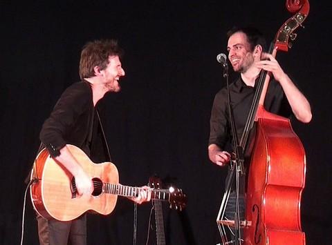 Frédéric Bobin et Mickaël Cointepas (photos Yann Sévrin)