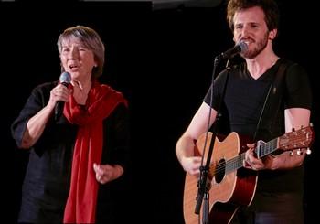 Martine Scozzesi et Frédéric Bobin photo Yann Sévrin