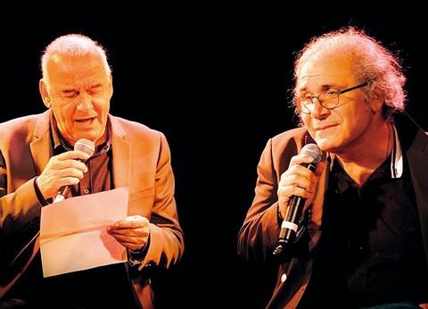 Michel Fugain et Frédéric Zeitoun (photo non créditée)