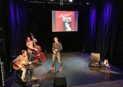 Gainsbourg Confidentiel en répétitions. Photos Myriam Daups
