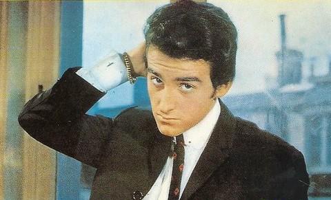 Dick Rivers (détail d'une pochette de disque)