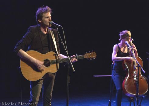 Fred Bobin et Hélène Piris MJC de Venelles 2019 ©N. Blanchard
