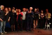 Le final de l'hommage à Aznavour (photos Michel Trihoreau)